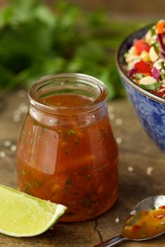 Chopped Asian Chicken Salad with ginger marmalade dressing