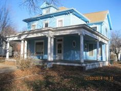 This turn of the Century home is a Homepath.com property. IT needs to be restored to it's original splendor. You can walk to the down town area in Villisca and within walking distance to the bus stops or schools. Oak framed fireplace and still has the original stain glass windows in it too. There are two staircases, one for guests , that is walnut and the other for servants off the kitchen. Pocket doors and all the hardwood floors that are unique in design. This is a Fannie Mae owned ...