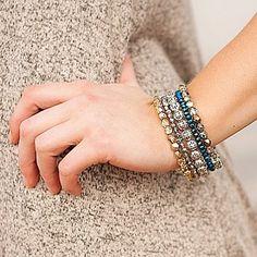 Bracelet stack Designed by Ryleeleigh
