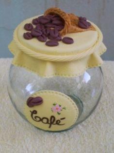 biscuit potes | POTE CAFÉ 1,600ML ( POTES DECORATIVOS ) escrito em domingo 06 abril ...