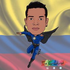 #FredyGuarin Fredy Guarin: Thanks to @the_caricaturist #Colombia #Italia #inter #superguaro #elguaro #cartoon