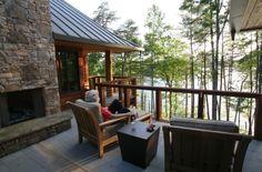 NC Mountain Lake House - Sarah Susanka