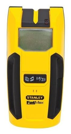Stanley FatMax Stud Sensor 300 Stud Finder Detects studs up to below surface material. Backlit LCD screen displays all of the tool's readings - even in low lighting conditions. Features One Pass Center Find Technology, which locates center of stud.