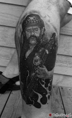 Lemmy from Motorhead Tattoo By Jamie MacKay