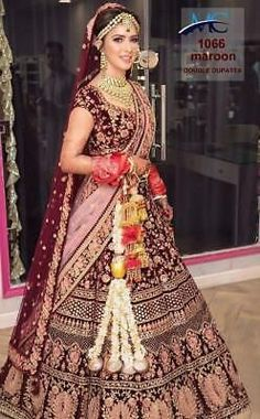 Best Indian Bridal outfits images in 2019 Indian Lehenga, Indian Wedding Lehenga, Indian Wedding Bride, Gothic Wedding, Wedding Wear, Sabyasachi Lehenga Bridal, Party Wedding, Lehenga Wedding Bridal, New Lehenga