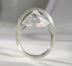 Karen Kathmann... how cool would this be for an engagement ring?