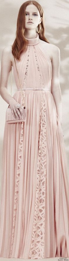 Elie Saab Resort 2016 women fashion outfit clothing style apparel @roressclothes closet ideas