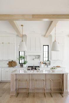 Kitchen - Oakstone Homes Home Decor Kitchen, Kitchen Living, Kitchen Interior, New Kitchen, Home Design, Küchen Design, Interior Design, Design Ideas, Modern Farmhouse Kitchens