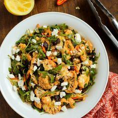 North African Cauliflower Salad with Charmoula Dressing