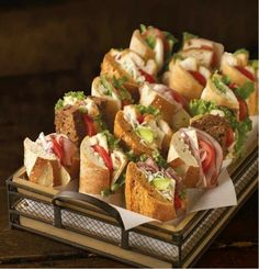 Mobile App : How will it help me? Hard to decide which to eat first. Sandwich Basket Byrne Byrne Byrne Bakery CafeHard to decide which to eat first. Brunch, Wrap Sandwiches, Picnic Sandwiches, Sandwich Bar, Sandwich Platter, Sandwich Catering, Baguette Sandwich, Catering Food, Catering For Weddings