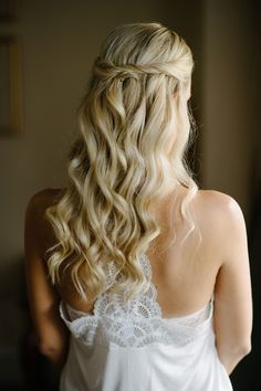 Featured Photographer: Brian Hatton Photography; wedding hairstyle idea