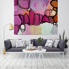 Hey, I found this really awesome Etsy listing at https://www.etsy.com/listing/523742554/sunlight-and-shadow-red-magenta-abstract