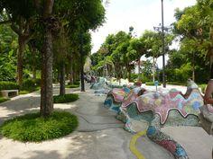 Merlion Park on #Sentosa Island