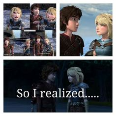 Hiccup and Astrid are secretly dating. The little things they say to each other, the way they look at each other. It's no longer a friendship turning into a relationship way, it's the relationship has already begun way. Don't believe me, just watch!