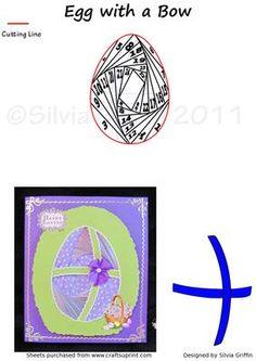 Purple Egg IF on Craftsuprint - Add To Basket!