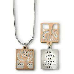 Our artisan handmade collection of mother jewelry includes engraved or hand stamped pieces with meaningful quotes or sayings. In silver, gold with gemstones, crystals and more. Family Necklace, Dog Tag Necklace, Silver Necklaces, Sterling Silver Pendants, Tree Of Life Jewelry, Mother Jewelry, Jewelry Quotes, Engraved Jewelry, Love Symbols
