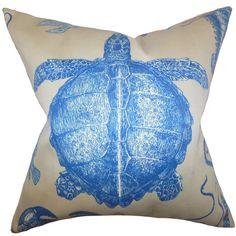 Found it at Wayfair - Aeliena Coastal Throw Pillow