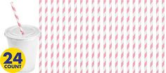 $3 - 24 count - Pink Tableware - Pink Party Supplies - Party City