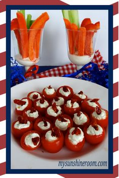 4th of July Vegetable Treats