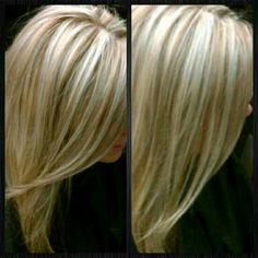Vaaleita hiuksia