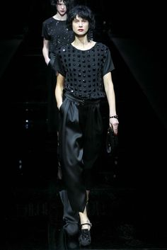 Emporio Armani - Fall 2015 Ready-to-Wear - Look 66 of 69