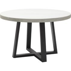 Cyrus Round Dining Table - Furniture - Dining - Dining Tables