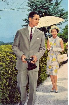 Long Live His Majesty King Bhumibol Adulyadej and Her Majesty Queen Sirikit of Thailand