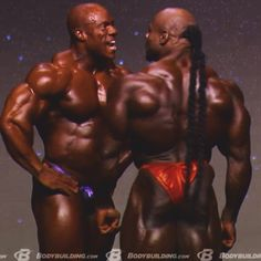 Kai Greene & Phil Heath go at it @ Mr. Olympia 2014. Shit just got real!!