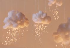 Clouds on a String <3 How cute!!