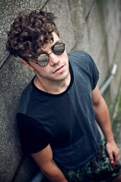Image result for round glasses on face #menshairstylesroundface #shorthairstylesforroundfaces
