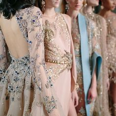 """Elie Saab does it again with this contemporary, """"strong yet delicate"""" collection."""