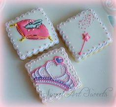 Princess cookies  1 dozen Cinderella cookies by SweetArtSweets, $46.50 by kathie
