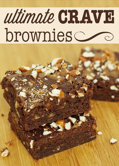 THE ultimate Crave brownie recipe