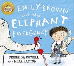 Emily Brown and the Elephant Emergency by Cressida Cowell https://www.amazon.co.uk/dp/1444923439/ref=cm_sw_r_pi_dp_x_JryRybMWVG26H