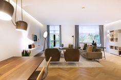 NOVALIS.O exclusieve design interieurs - Modern interieur met klassieke accenten - Hoog ■ Exclusieve woon- en tuin inspiratie.
