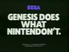 LOVED our Sega Genesis!