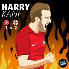 Harry Kane capitán de la selección de Inglaterra anotó dos goles ante Túnez con un resultado Inglaterra 2 Túnez 1 #tottenham #harrykane… Harry Kane, Tottenham Hotspur Fc, World Cup Russia 2018, England Football, Great Team, Fifa World Cup, Soccer, Football Drawings, The Selection