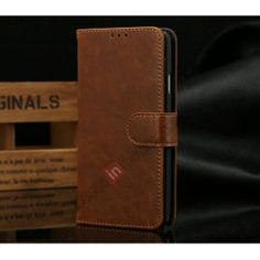 Luxury Crazy Horse Leather Wallet Case For Samsung Galaxy Note 3 iii N9000 With Credit Card - Light Brown US$12.69