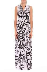 'giorgina' Print Drawstring Maternity Maxi Dress