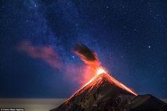 Fuego Volcano in Gua