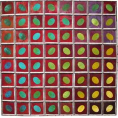 """""""Color Way"""" art quilt by Betty Busby"""