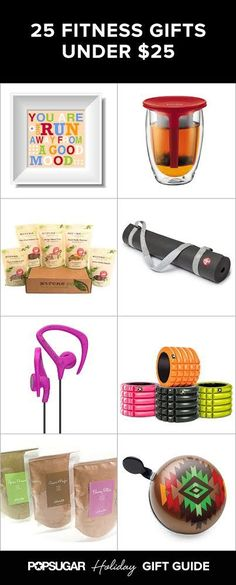 Weve rounded up 25 gifts, with selections for the runner, yogi, cyclist, and overall fitness freak. Your wallet will appreciate that all these finds are under $25. #running #correr #motivacion #concurso #promo #deporte #abdominales #entrenamiento #alimentacion #vidasana #salud #motivacion