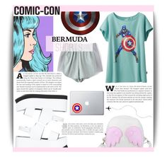 """""""Comic-con #3"""" by dolly-valkyrie ❤ liked on Polyvore featuring Uniqlo, Joseph, Marvel Comics and comicconfashion"""