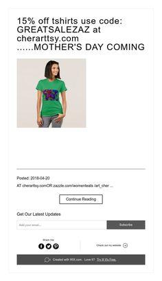 63543448e 15% off tshirts use code: GREATSALEZAZ at cherarttsy.com ......MOTHER'S DAY  COMING