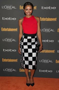@Katrina Graham at the Entertainment Weekly Pre-Emmy Party