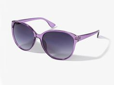 Lavender Cat Eye Sunglasses