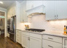 L and L of Raleigh built this custom kitchen inside the Beltline . 3205 Plantation Dr. Raleigh