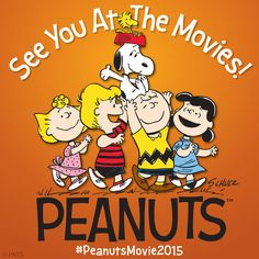 Charles Schulz's 'Peanuts' gang will hit the big screens on Nov. 25, 2015 as a new animated movie. (via Chicago Tribune)