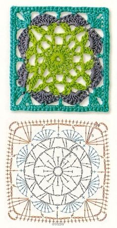 The Ultimate Granny Square Diagrams Collection The Ultimate Grann. The Ultimate Granny Square Diagrams Collection The Ultimate Granny Square Diagrams C Crochet Doily Diagram, Crochet Motifs, Granny Square Crochet Pattern, Crochet Chart, Crochet Doilies, Crochet Stitches, Crochet Patterns, Afghan Patterns, Knitting Patterns