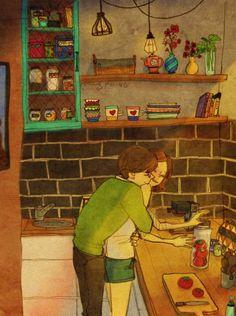 23 illustrations sur l'amour qui réchaufferont même les coeurs endurcis : vous allez craquer !